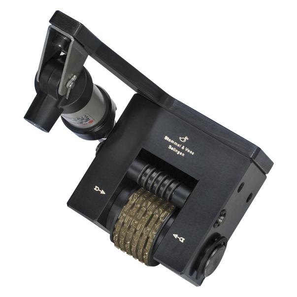WSV 1410 Nummerier-Stempelwerkzeug, pneumatisch weiterschaltend