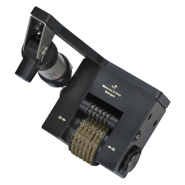 WSV 1411 Nummerier-Stempelwerkzeug, pneumatisch weiterschaltend